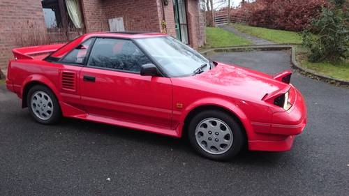for sale 1989 toyota mr2 mk1b low mileage 12 months mot classic cars hq. Black Bedroom Furniture Sets. Home Design Ideas