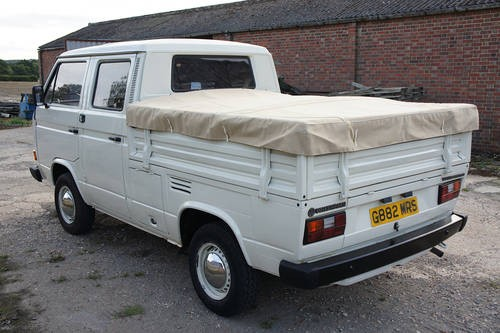 for sale volkswagen t25 double cab pick up 1989 classic cars hq. Black Bedroom Furniture Sets. Home Design Ideas
