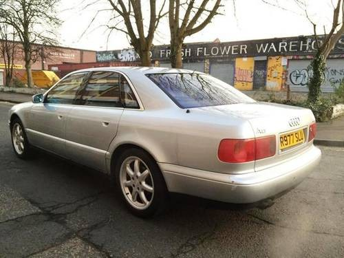 For Sale 1997 Audi A8 42 Quattro Fully Loaded Sparesrepair