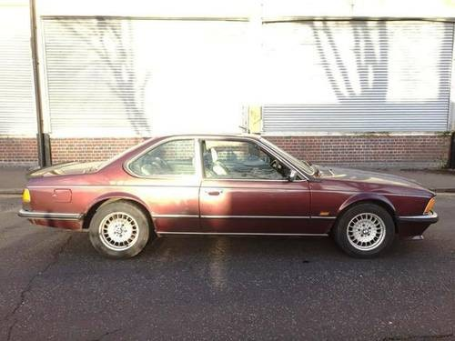 For Sale Bmw 635csi Automatic 80 S Classic Coupe 1986