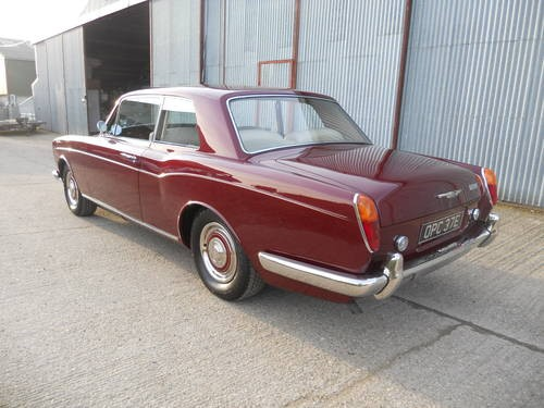For Sale Show Condition 1967 Bentley T1 Mulliner Park Ward