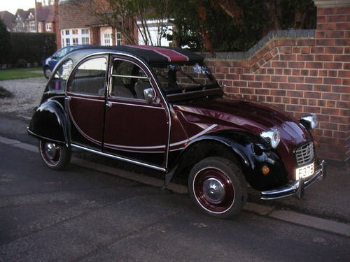for sale 1988 citroen 2cv charleston classic cars hq. Black Bedroom Furniture Sets. Home Design Ideas