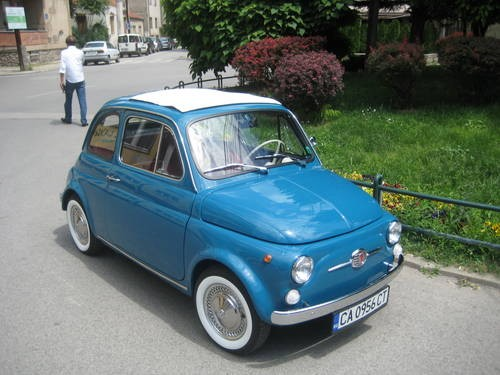 for sale fiat 500 f excellent 100 original 1967. Black Bedroom Furniture Sets. Home Design Ideas