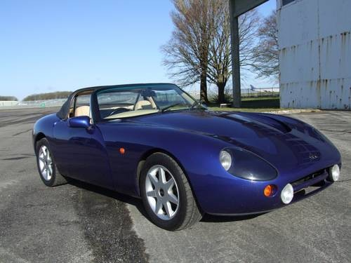 for sale 1998 tvr griffith 500 lots of recent work low mileage classic cars hq. Black Bedroom Furniture Sets. Home Design Ideas