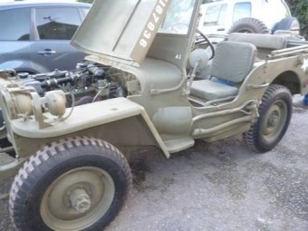For Sale Ford GPW wartime jeep (1944)   Classic Cars HQ