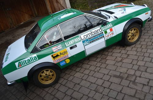 for sale lancia beta 2.0 coupe historic rally car (1980) | classic