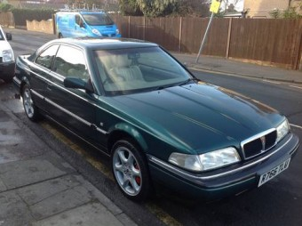 for sale rover 800 sterling coupe 1997 classic cars hq. Black Bedroom Furniture Sets. Home Design Ideas