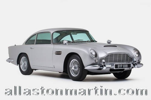 For Sale Aston Martin DB Saloon Goldfinger Replica - 1964 aston martin db5 for sale