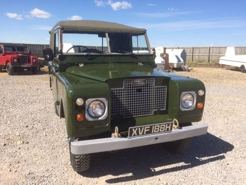 for sale land rover series 2a ragtop 1970 classic cars hq. Black Bedroom Furniture Sets. Home Design Ideas