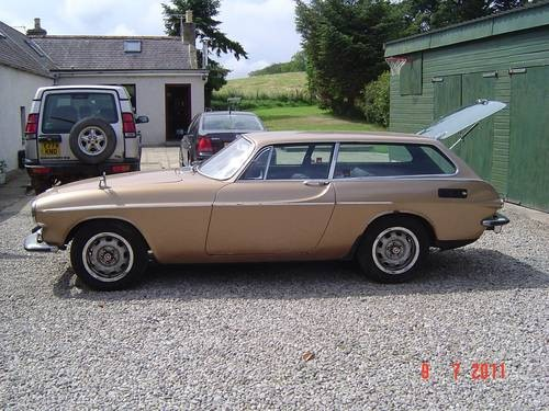 for sale volvo p1800es for restoration very good project 1971 classic cars hq. Black Bedroom Furniture Sets. Home Design Ideas