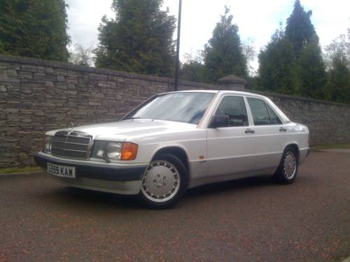 For sale mercedes benz 190e 2 0l sportline 1990 for Mercedes benz 190e for sale