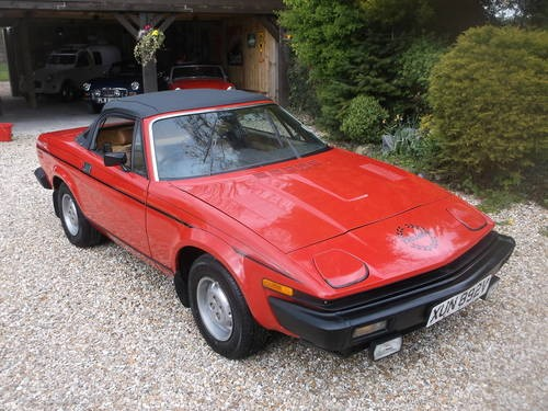 for sale superb restored tr7 convertible 1981 classic cars hq. Black Bedroom Furniture Sets. Home Design Ideas