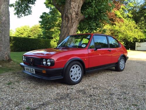 For Sale Alfasud Ti Green Cloverleaf Classic Cars HQ - Alfa romeo alfasud for sale