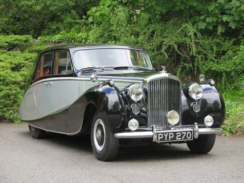 for sale 1954 bentley r type automatic hooper empress saloon b42yd classic cars hq. Black Bedroom Furniture Sets. Home Design Ideas