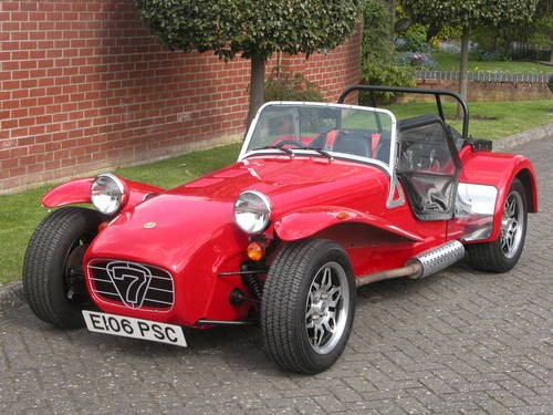 for sale 1988 caterham super seven classic cars hq. Black Bedroom Furniture Sets. Home Design Ideas