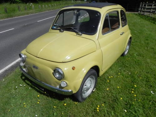 For Sale  U2013 Fiat 500    Italian Import      1973