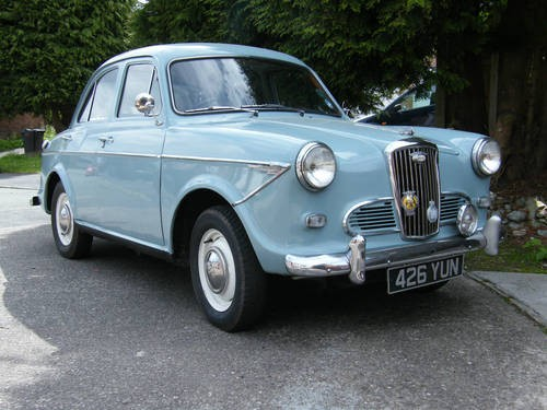 for sale 1960 wolseley 1500 classic cars hq. Black Bedroom Furniture Sets. Home Design Ideas
