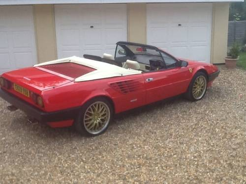 for sale rare rhd ferrari mondial qv cabriolet 1985. Black Bedroom Furniture Sets. Home Design Ideas