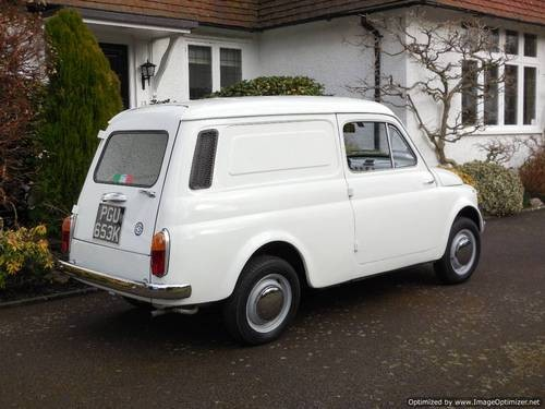 For Sale – Fiat 500 Furgoncino (Van) 1972 / ASI / Restored & Unique | Classic Cars HQ.