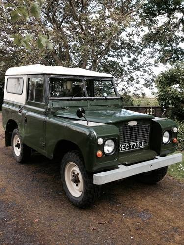 for sale classic series iia swb land rover 1970 classic cars hq. Black Bedroom Furniture Sets. Home Design Ideas