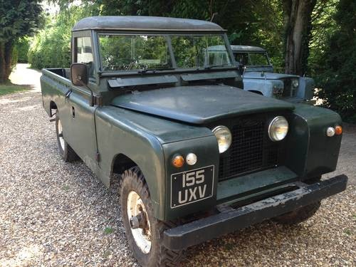 for sale land rover series 2 ii 1960 109 pick up lwb petrol classic cars hq. Black Bedroom Furniture Sets. Home Design Ideas