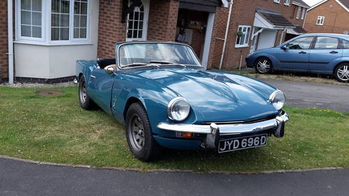For Sale Triumph Spitfire Mk2 With Overdrive 1966 Classic Cars Hq