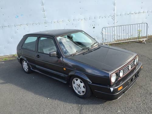 for sale golf gti mk2 campaign one in a million edition 1988 classic cars hq. Black Bedroom Furniture Sets. Home Design Ideas