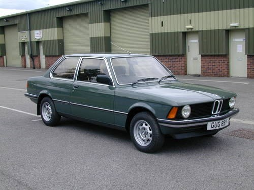 for sale bmw e21 316 mk1 uk rhd low miles one owner 1983 classic cars hq. Black Bedroom Furniture Sets. Home Design Ideas