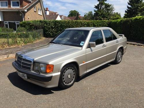 For sale mercedes cosworth 190e 2 3 16v 1986 classic for Mercedes benz 190e for sale