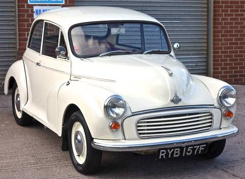 For Sale Morris Minor Old English White Classic Cars Hq