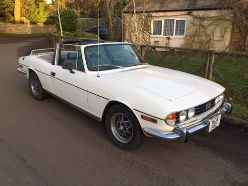 For sale triumph stag mk1 1972 left hand drive classic for Triumph motor cars for sale