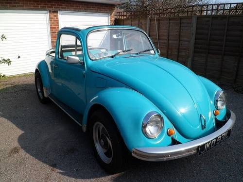 for sale 1973 volkswagen beetle convertible classic cars hq. Black Bedroom Furniture Sets. Home Design Ideas
