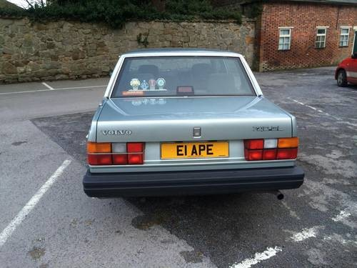 For Sale – Exceptional time warp Volvo 740 GL (Saloon) (1988 ...