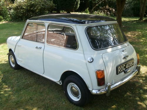 for sale 1969 austin mini cooper mk2 with new mot. Black Bedroom Furniture Sets. Home Design Ideas