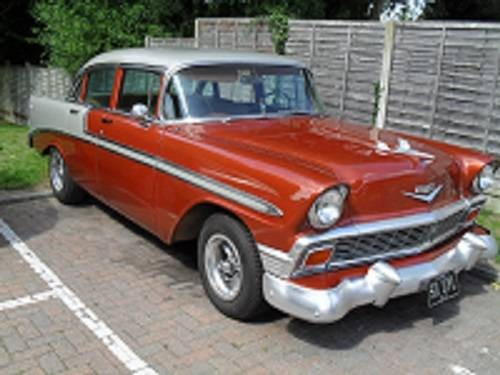 For sale 1956 chevrolet bel air 350 v8 auto 4 door for 1956 chevy belair 4 door for sale