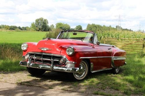 for sale chevrolet bel air convertible 1953 classic cars hq. Black Bedroom Furniture Sets. Home Design Ideas
