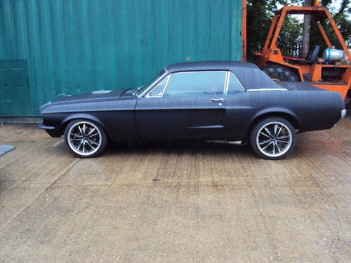 for sale ford mustang 289 totaly restored matt black 1967 classic cars hq. Black Bedroom Furniture Sets. Home Design Ideas