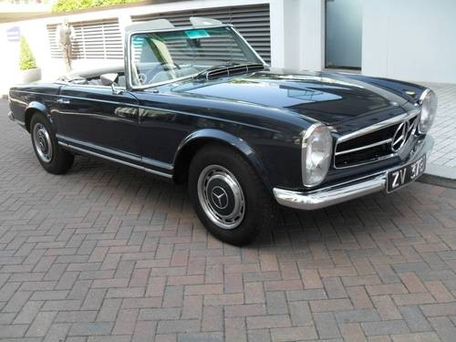 For sale mercedes benz 280sl pagoda 1968 classic for Mercedes benz 280sl pagoda for sale