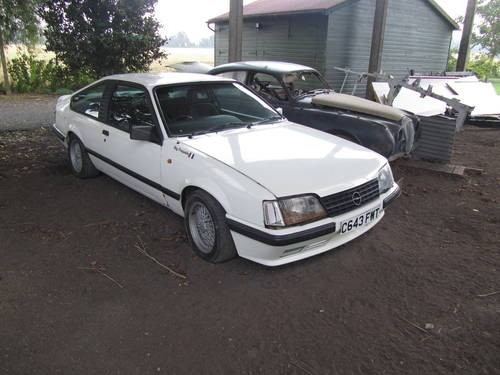 for sale 1986 white opel monza raced by guy frequelin classic rh classiccarshq co uk 1974 Opel Manta Opel Manta 400