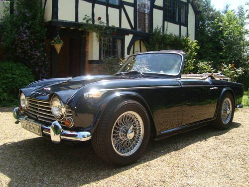 For Sale Triumph Tr4a Irs With Overdrive Rhd Uk Car 1965