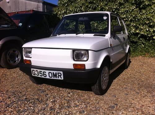 for sale fiat 126 bis low mileage 1989 classic cars hq. Black Bedroom Furniture Sets. Home Design Ideas