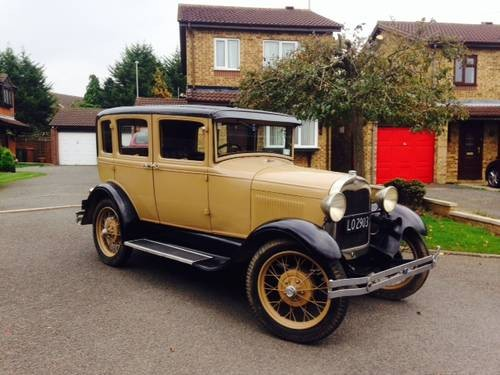 26fdf19739 For Sale – Right hand drive Model A saloon (1929) .