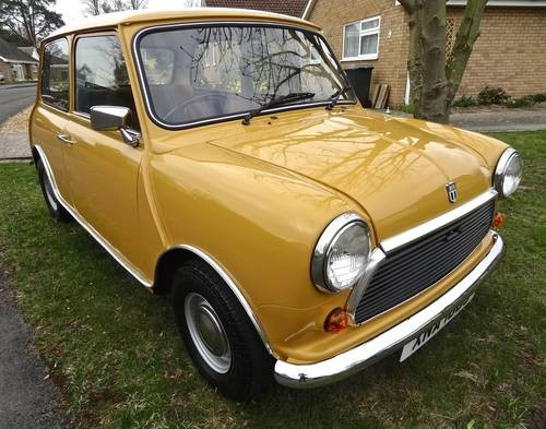 for sale 1978 mini 1000 for sale classic cars hq. Black Bedroom Furniture Sets. Home Design Ideas