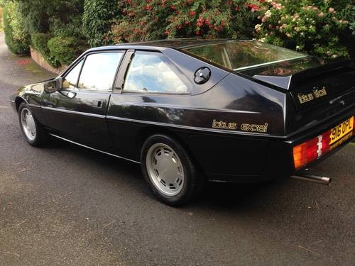 for sale lotus excel 2 2 48000 miles 3995 ono 1986 classic