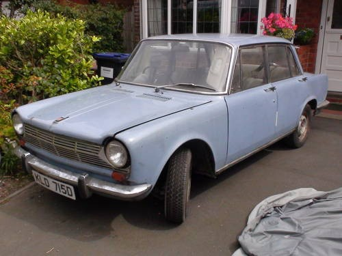 for sale simca 1500 right hand drive 1966 classic cars hq. Black Bedroom Furniture Sets. Home Design Ideas