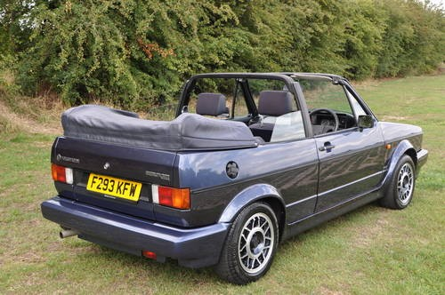 for sale stunning mk1 golf gti cabriolet 1989 classic cars hq. Black Bedroom Furniture Sets. Home Design Ideas