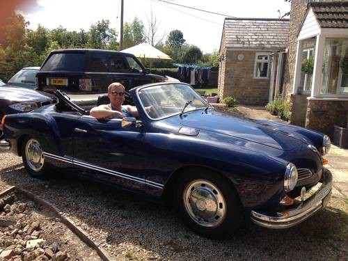 for sale volkswagen karmann ghia cabrio rhd 1972 for. Black Bedroom Furniture Sets. Home Design Ideas