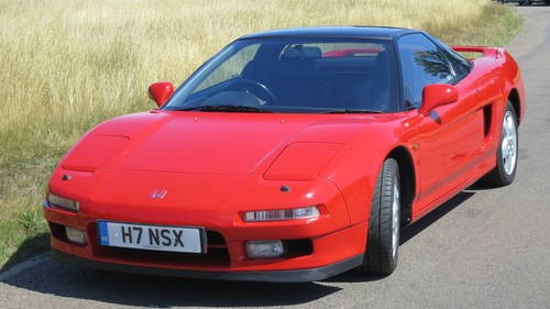 for sale privately owned honda nsx immaculate 1991 classic cars hq. Black Bedroom Furniture Sets. Home Design Ideas