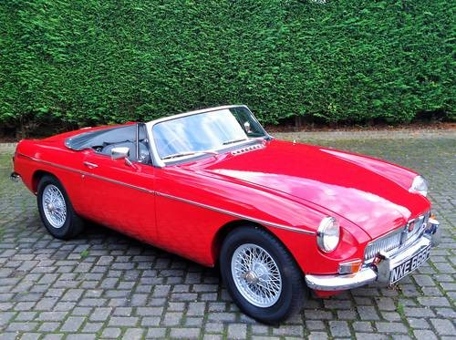 For Sale – Heritage shell restored MGB (1968) | Classic Cars HQ