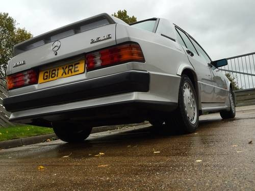 Merc X on mercedes 190e cosworth